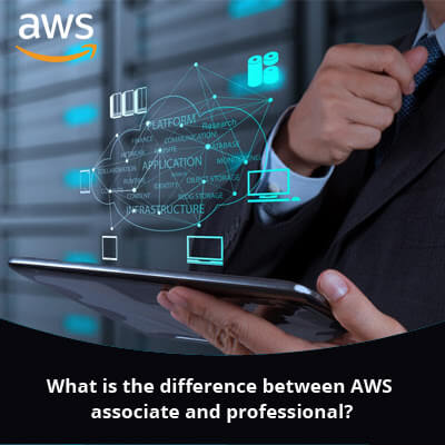 What is the difference between AWS associate and professional?