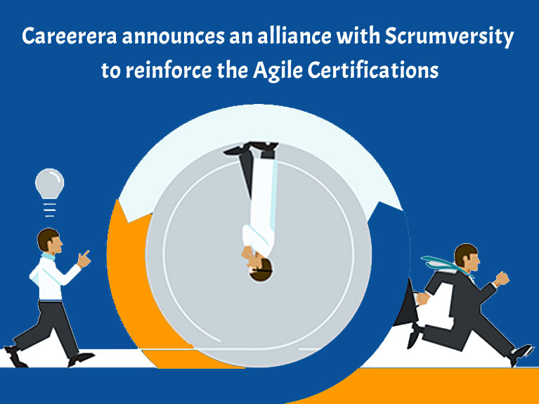Careerera announces an alliance with Scrumversity to reinforce the Agile Certifications